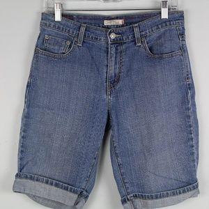 Levi's 515 Bermuda Jean Shorts
